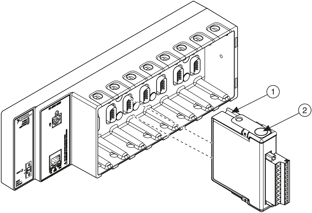 setup guide for ethernet rio expansion chassis