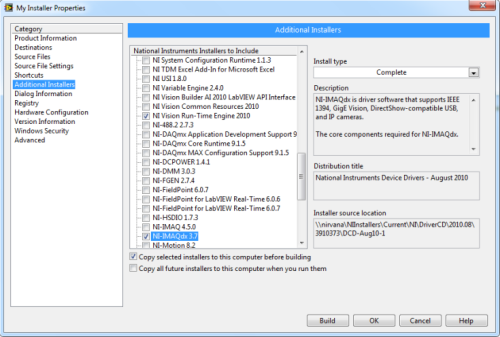NI Vision 8.5 Development Module (1 cd)