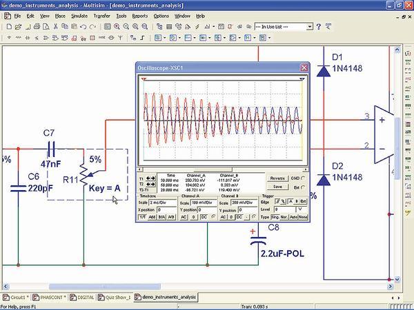программа для моделирования электрических схем - фото 7